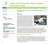 Peace Games Volunteer Portal